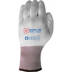 White touch handschoen set