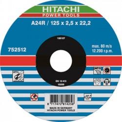 Hitachi doorslijpschijf 125mm x 2,5mm