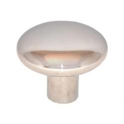 Mastknop plat 125 mm 5'' RVS