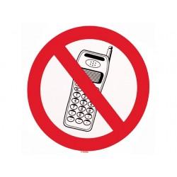 Telefoneren verboden