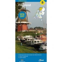 ANWB-Kaart Friesland