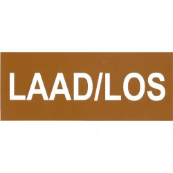 Laad/Los sticker