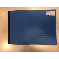 Vaartijdenboek-Fahrtenbuch blauw/kanalen
