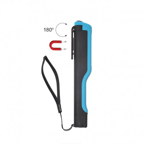 Led-zaklamp met draaibaar magneet