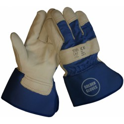 Golden glove handschoen