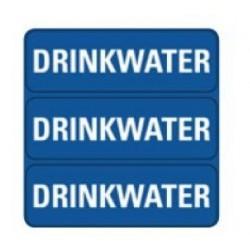 Sticker ''Drinkwater''
