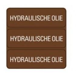 Sticker ''Hydraulische olie''