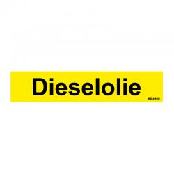 Graveerplaatje 'Dieselolie' mt. s