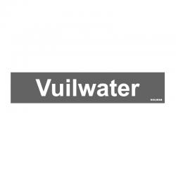 Graveerplaatje 'Vuilwater' mt. s