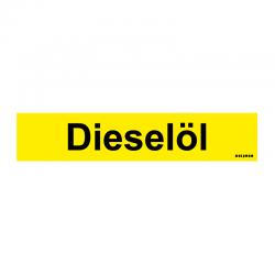 Graveerplaatje 'Dieselöl' mt. s