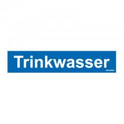 Graveerplaatje 'Trinkwasser' mt. s
