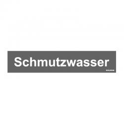 Graveerplaatje 'Schmutzwasser' mt. s