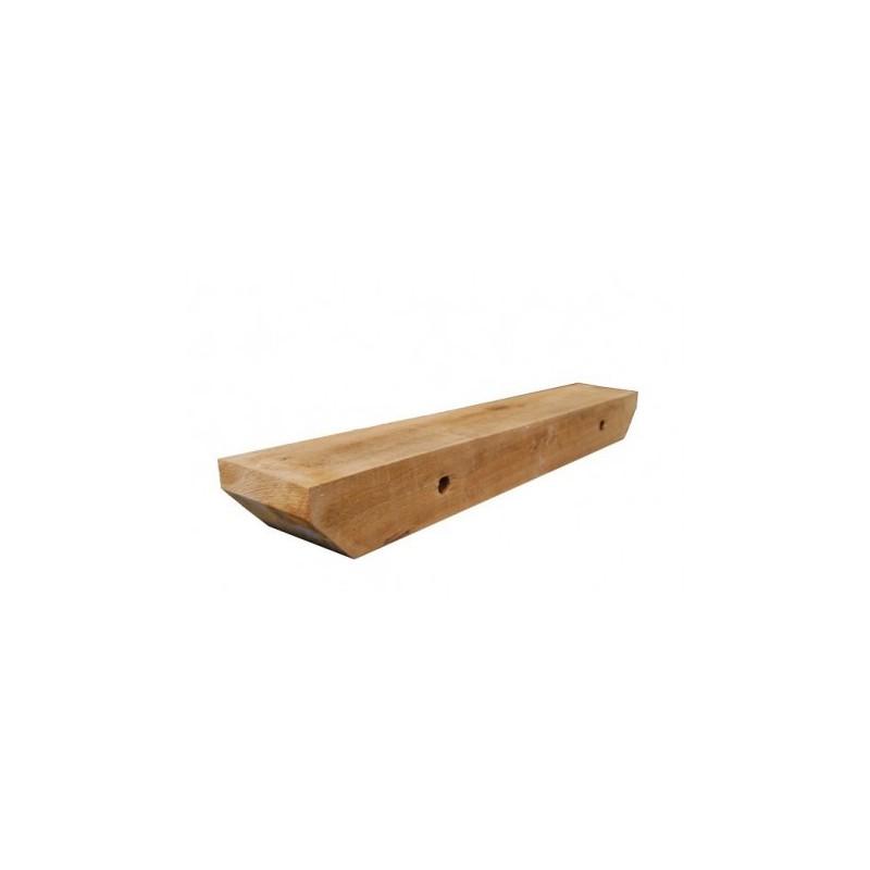 wrijfhout 15 x 15 x 100cm