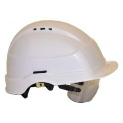 Veiligheidshelm met bril
